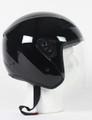 RK5B - Black DOT Motorcycle Helmet RK-5 Open Face with Flip Shield