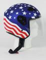 RK5A - America DOT Motorcycle Helmet RK-5 Open Face with Flip Shield