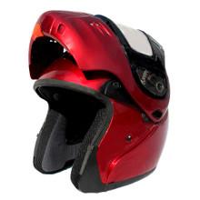 Wine Snowmobile helmet