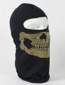 Balaclava - Skull Gold