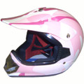 DOT ATV Dirt Bike MX Kids Pink Camo Motorcycle