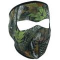 Forest Camo Neoprene Face Mask