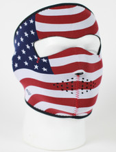 Face Mask - USA Flag Stars & Stripes Neoprene