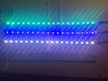 LED light strip with femal 5.5mm x 2.1mm plug