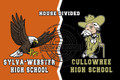 House Divided SWHS and CHS 8x12 Sign