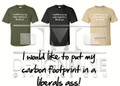 Carbon Footprint Shirt