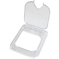 1/6 Size Clear Notched Flip Lid