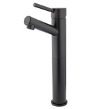 Oil Rubbed Bronze Single handle vessel sink faucet by Kingston Brass modern rustic- Complete Home Hardware