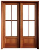Mahogany Alexandria TDL 4LT 6/8 Double Door