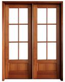 Mahogany Alexandria TDL 6LT 6/8 Double Door