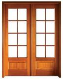 Mahogany Alexandria TDL 8LT 8/0 Double Door
