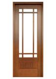 Mahogany Alexandria TDL 9LT 8/0 Single Door