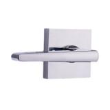chrome philtower reversible dummy lever - Weslock