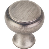 "Brushed Pewter 1-1/4"" Westbury Decorative Cabinet Knob (3898BNBDL)"