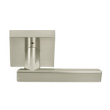 Satin Nickel Santa Cruz Contemporary Privacy Lever by Better Home Products (91215SN)- Complete Home Hardware Franklin, TN Preferred Authorized Vendor