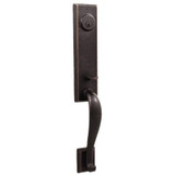 Molten Bronze Greystone Front Door Dummy Handleset - Oil Rubbed Bronze by Weslock
