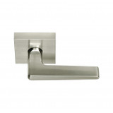 Satin Nickel Tiburon Passage Lever