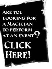 Find a local Wisconsin Magician for hire...