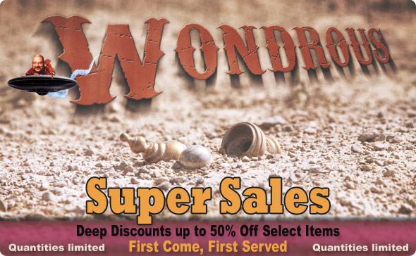 Super Sales items - Deep Discounts