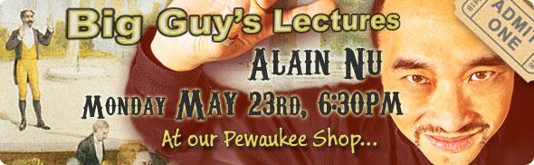 Alain Nu's Lecture