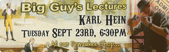 Karl Hein Lecture