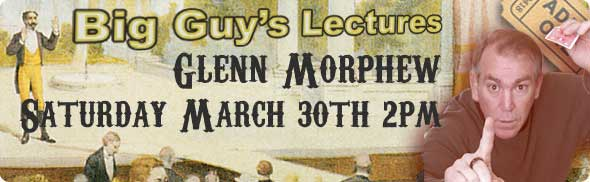 Glenn Morphew Lecture