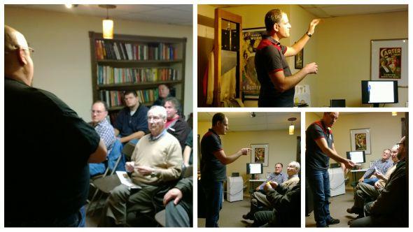 Roy Zaltsman Lecture at Big Guy's Magic Shop