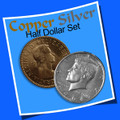 Copper Silver Half Dollar Set