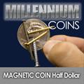 Magnetic Half Dollar  - Millennium