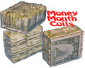 Mouth Coils - Dollar Bills - 15 ft 12 Pk Chain