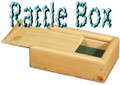 Rattle Box- Wood