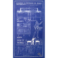 Sawing A Woman In Half Poster(12 inch  x 22 inch)in tube by Paul Osborne - Trick