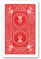 Shim Card Double - Bicycle- RED