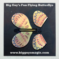 Big Guy's Fun Flying Butterflys - Tropical Orange