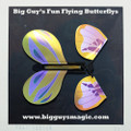 Big Guy's Fun Flying Butterflys - Purple Splash