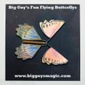 Big Guy's Fun Flying Butterflys - Blue Peach