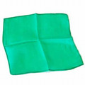 Emerald 18 inch Colored Silks- Professional Grade (12 Pack)