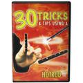 30 Tricks HotRod DVD in Standard Plastic Case With 2 HOTRODS