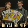 Royal Monte  Giant 3 Card Set