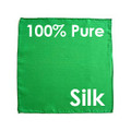 "Silk - 12"" Green, DiFatta - Dozen"