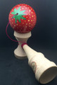 Hand Painted Kendama - Strawberry  By Big Guy's Magic