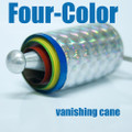 Vanishing Cane, 4 Color - Metal
