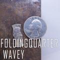 Folding Quarter - Wavy