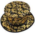 Folding Top Hat - Follage Black