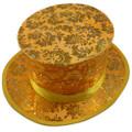 Folding Top Hat - Follage Gold