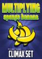 Multiplying Sponge Banana CLIMAX 4 Set