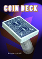 Coin Deck, Bicycle- Blue