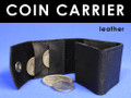 Coin Holder / Carrier - Leather