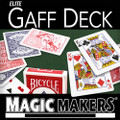 Elite Gaff Deck - Also Know As The Blue Gaffed Deck