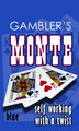 Gamblers Monte- Bicycle- Blue